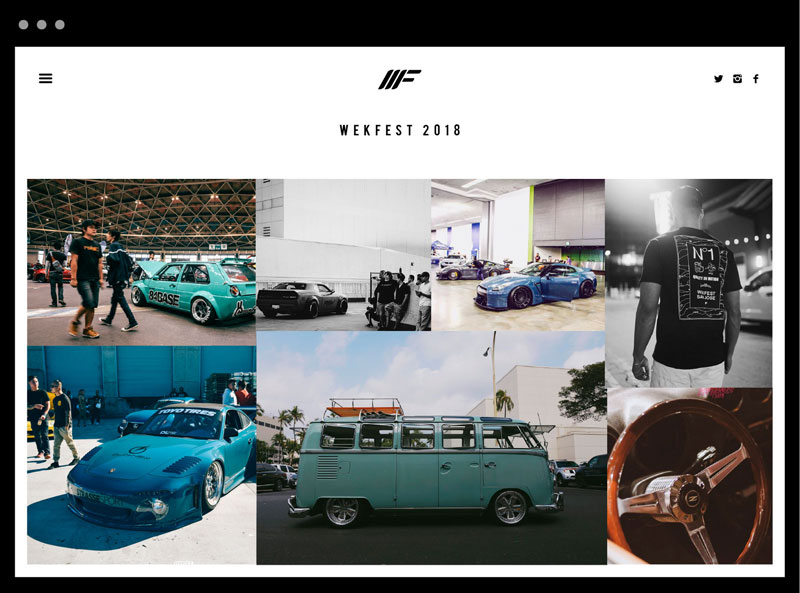 wekfest website event example